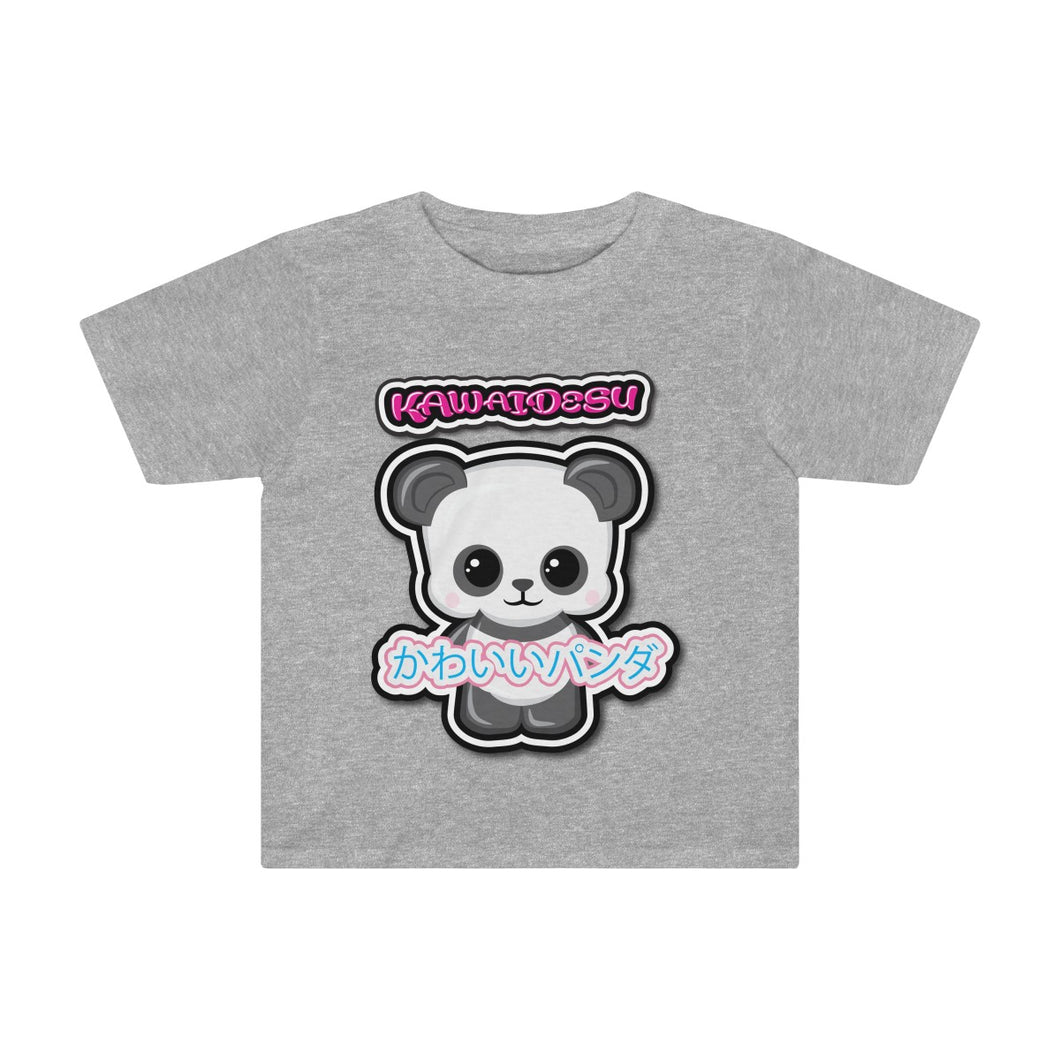 Toddlers Kawaii Panda Tee