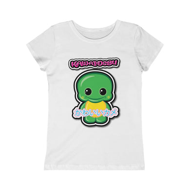 Girls Kawaii Turtle Tee