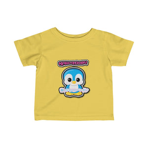 Infant Kawaii Blue Penguin Tee