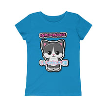 Load image into Gallery viewer, Girls Kawaii Tuxedo Cat Tee