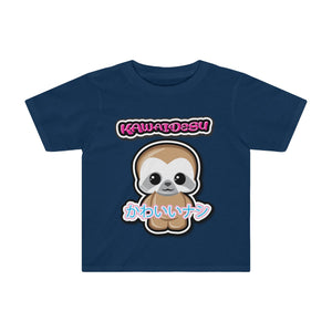 Toddlers Kawaii Sloth Tee
