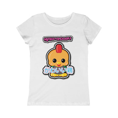 Girls Kawaii Rooster Tee