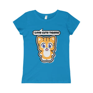 Tiger Girls Princess Tee