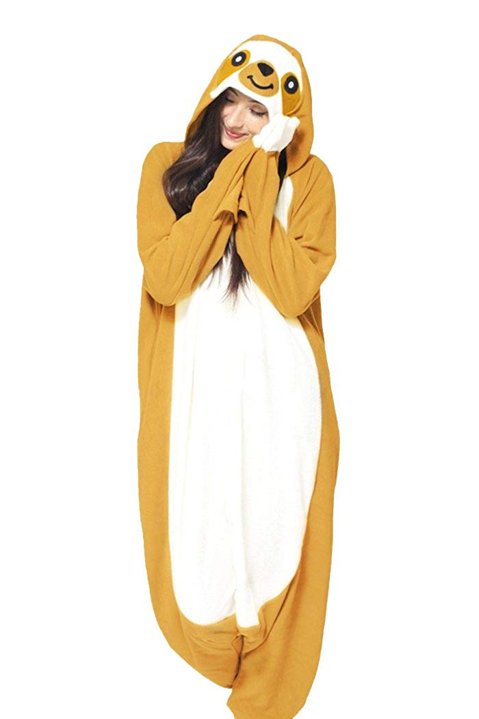 WOTOGOLD Animal Cosplay Costume New Sloth Adult Pajamas