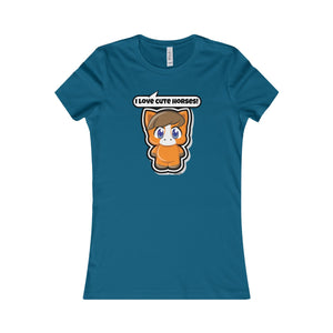 Horse Women's Favorite Tee