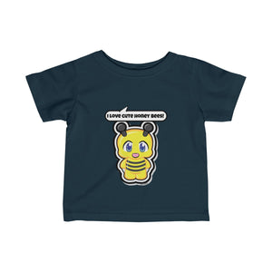 Honey Bee Infant Fine Jersey Tee