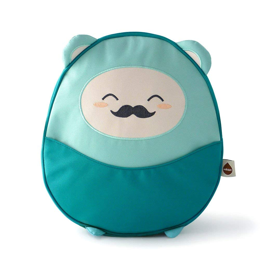 Milkdot Kawaii Pac Mini Backpack, Purple/Lola