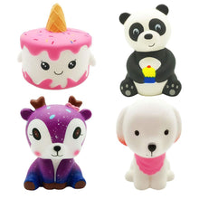 Load image into Gallery viewer, Ouflow 4Pcs Squishies Slow Rising Toy Pack