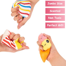 Load image into Gallery viewer, Slow Rising Jumbo SQUISHIES Set Pack of 7