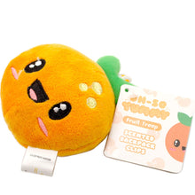 Load image into Gallery viewer, Scentco Fruit Troop Backpack Buddies - Scented Plush Toy Clips - Orange