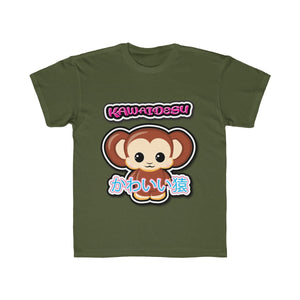 Kids Kawaii Monkey Tee