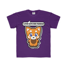 Load image into Gallery viewer, Red Panda Kids Regular Fit Tee