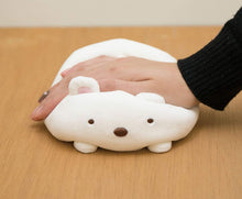"Load image into Gallery viewer, San-x Sumikko Gurashi Super Squishy Plush 6"" Polar-bear"