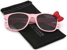 Load image into Gallery viewer, Hello Kitty Bow Women's Fashion Glasses with Bow and Whiskers