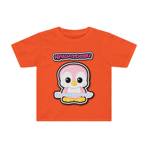 Toddlers Kawaii Pink Penguin Tee