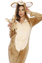 Load image into Gallery viewer, Just Love Kangaroo Adult Onesie/Pajamas