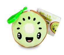 Load image into Gallery viewer, Scentco Fruit Troop Backpack Buddies - Scented Plush Toy Clips - Kiwi