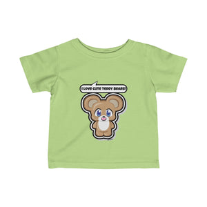Teddy Bear Infant Fine Jersey Tee