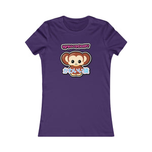 Women's Kawaii Monkey Tee