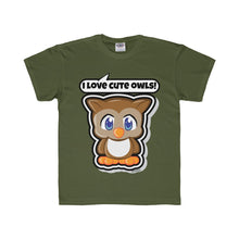 Load image into Gallery viewer, Owl Kids Regular Fit Tee