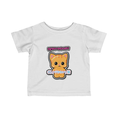 Infant Kawaii Orange Cat Tee