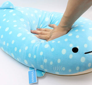 Vintoys Very Soft Blue Whale Shark Big Hugging Pillow Plush Doll Fish Plush Toy Stuffed Animals 27""