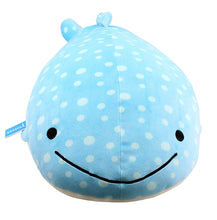 Load image into Gallery viewer, Vintoys Very Soft Blue Whale Shark Big Hugging Pillow Plush Doll Fish Plush Toy Stuffed Animals 27""