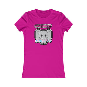 Women's Kawaii Elephant Tee