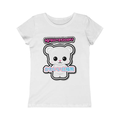 Girls Kawaii Polar Bear Tee
