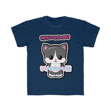 Load image into Gallery viewer, Kids Kawaii Tuxedo Cat Tee