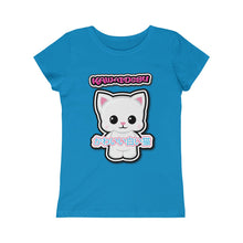 Load image into Gallery viewer, Girls Kawaii White Cat Tee