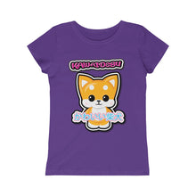 Load image into Gallery viewer, Girls Kawaii Shiba Inu Tee
