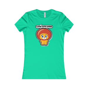 Lion Women's Favorite Tee