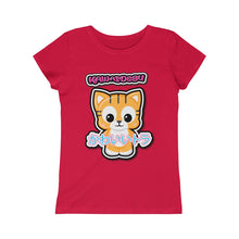 Load image into Gallery viewer, Girls Kawaii Tiger Tee