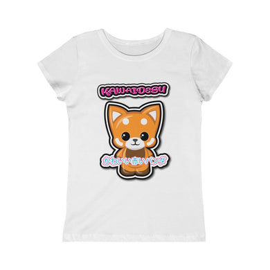 Girls Kawaii Red Panda Tee