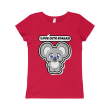 Load image into Gallery viewer, Koala Girls Princess Tee