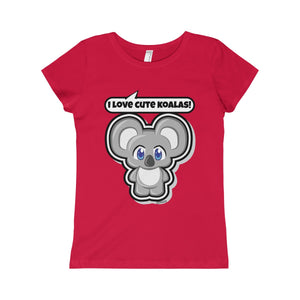 Koala Girls Princess Tee