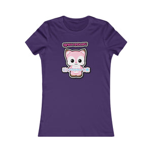 Women's Kawaii Pink Deer Tee