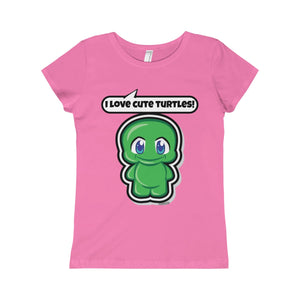 Turtle Girls Princess Tee