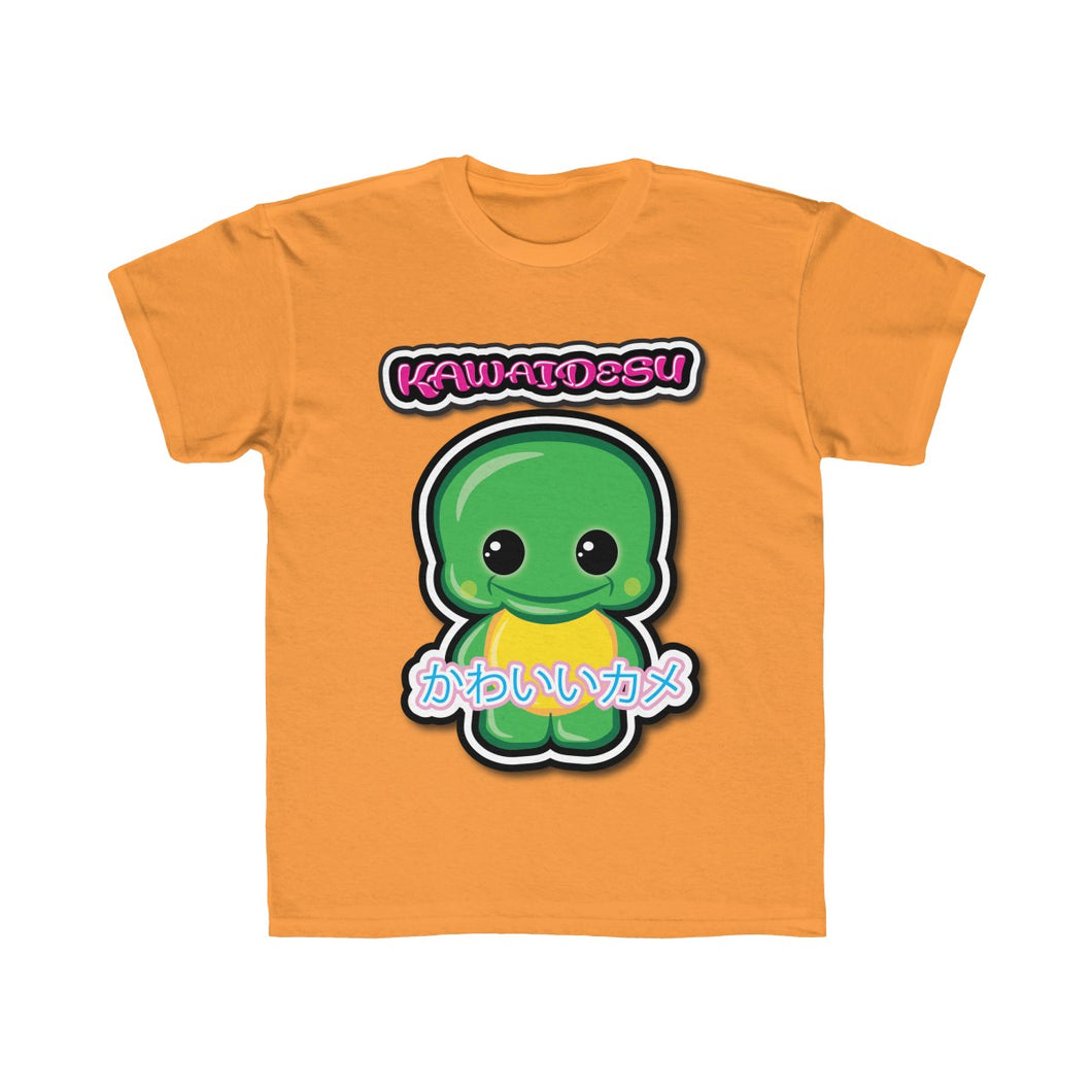 Kids Kawaii Turtle Tee