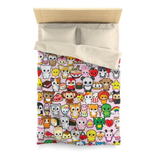 Load image into Gallery viewer, Kawaidesu Microfiber Duvet Cover