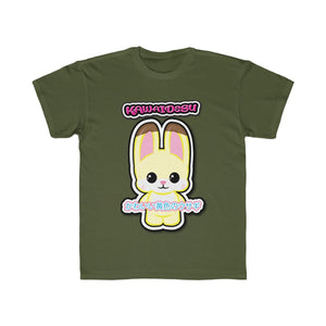 Kids Kawaii Yellow Rabbit Tee