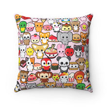 Load image into Gallery viewer, Kawaidesu Spun Polyester Square Pillow