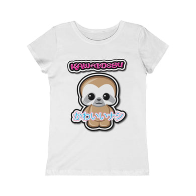 Girls Kawaii Sloth Tee