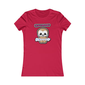 Women's Kawaii Sloth Tee
