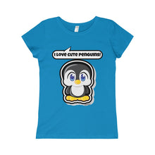 Load image into Gallery viewer, Penguin Girls Princess Tee