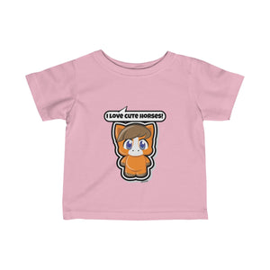 Horse Infant Fine Jersey Tee