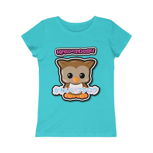 Girls Kawaii Owl Tee