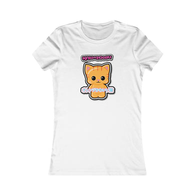 Women's Kawaii Orange Cat Tee