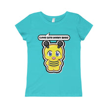 Load image into Gallery viewer, Honey Bee Girls Princess Tee